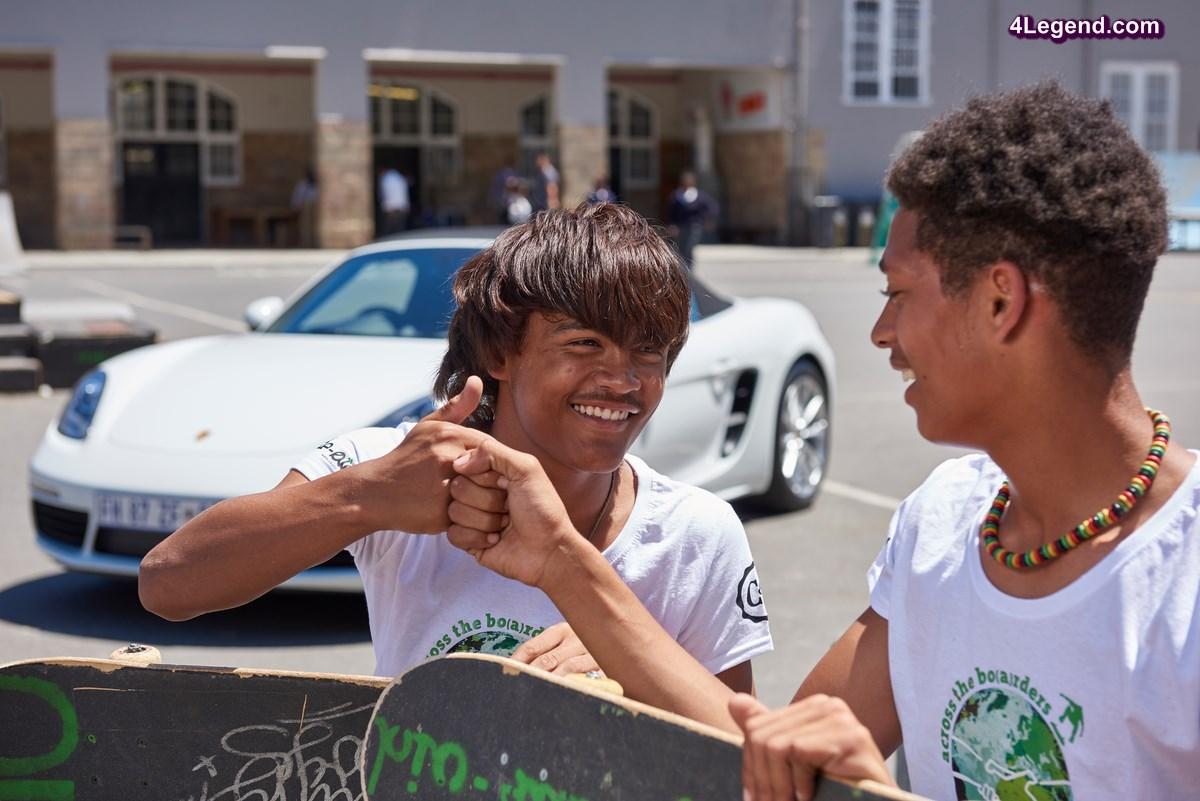 Porsche lance un projet de formation pédagogique pour les jeunes