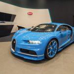 Bugatti dévoile la Chiron à Taïwan