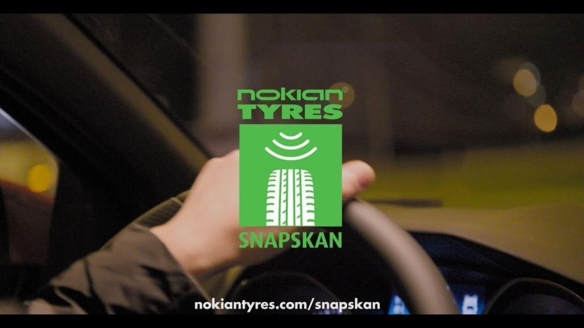 Nokian Tyres lance SnapSkan - Une technologie révolutionnaire qui mesure la profondeur des pneus
