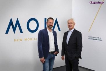 Le Groupe Volkswagen dévoile MOIA, sa nouvelle société et marque de services de mobilité