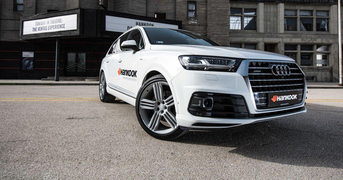 Nouvelle technologie d'insonorisation de pneu « Sound Absorber » de Hankook en équipement d'origine sur les Audi Q7 et SQ7 TDI