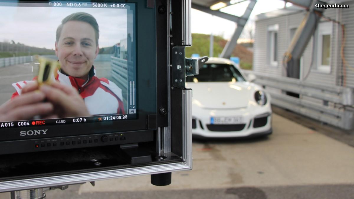 Vidéo d'un jour de travail chez Porsche - Cela laisse rêveur!