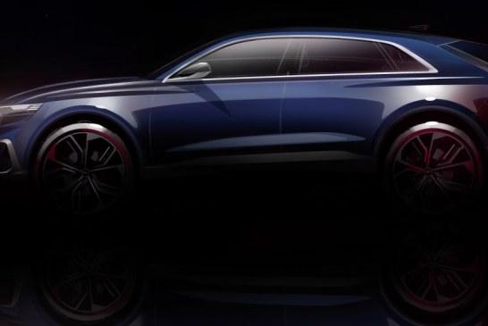 Audi Q8 concept – Première mondiale au salon de Détroit 2017