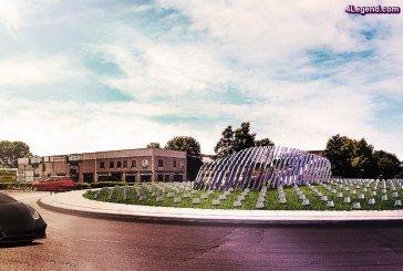 Des entreprises italiennes ont remporté conjointement le Concours «Lamborghini Road Monument»