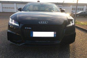 Arrivée de l'Audi TT RS en concession – 1ère prise en main