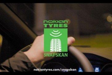 Nokian Tyres lance SnapSkan – Une technologie révolutionnaire qui mesure la profondeur des pneus