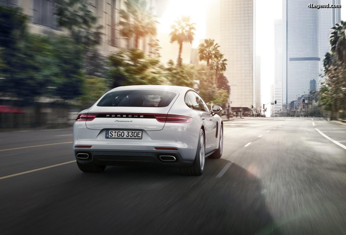 Technologie Porsche InnoDrive sur la nouvelle Panamera - Un pas de plus vers la conduite autonome