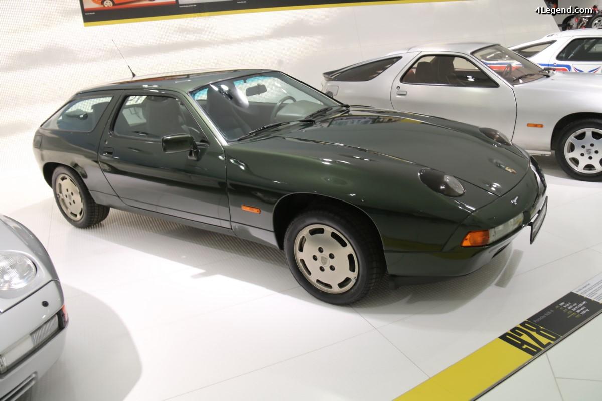 Porsche 928-4 longue à 4 places de 1984 - Le cadeau d'anniversaire de Ferry Porsche pour ses 75 ans