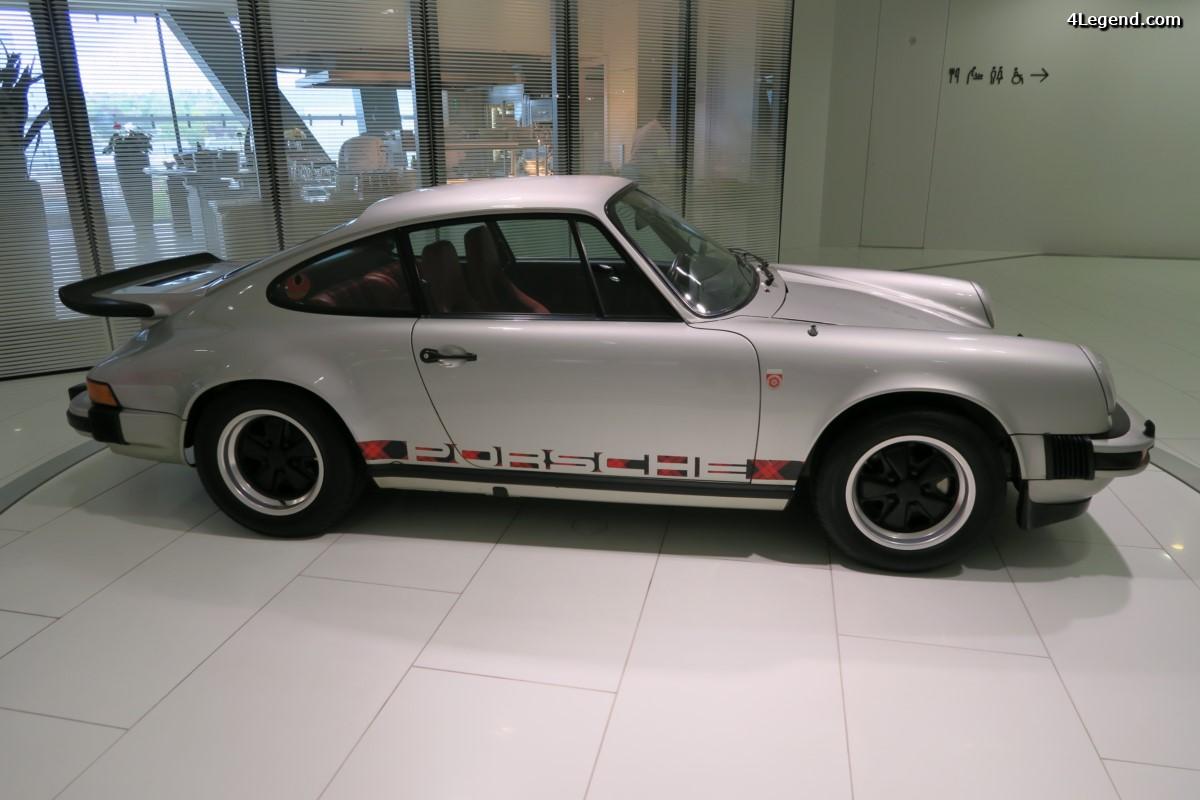 Porsche 911 Turbo Nr. 1 de Louise Piëch - Un cadeau d'anniversaire pour ses 70 ans en 1974