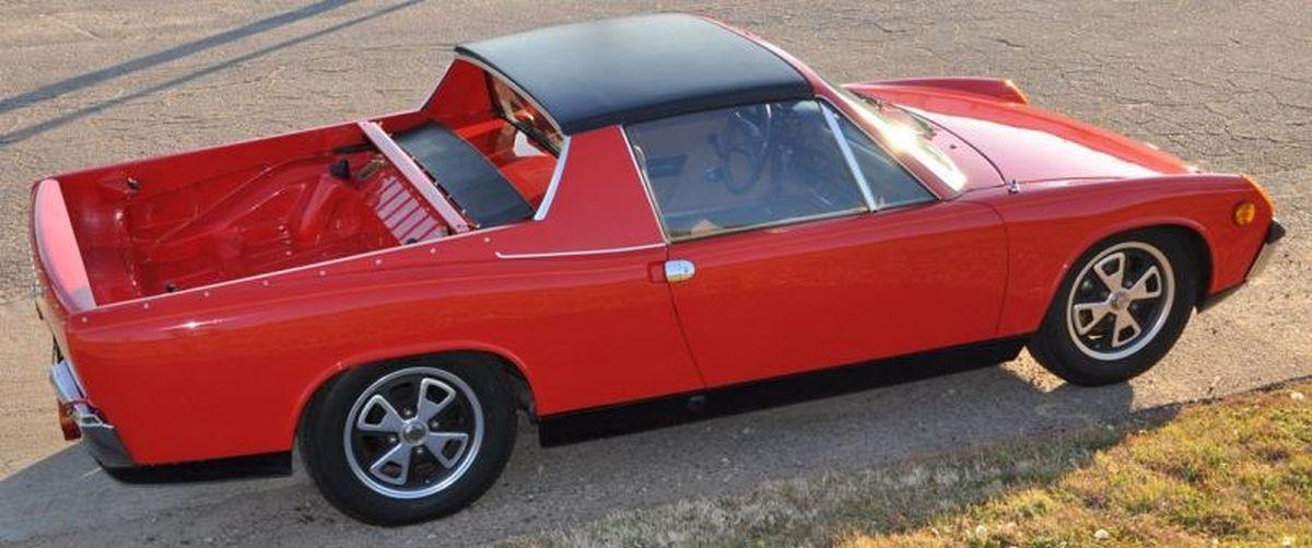 VW-Porsche 914 Pick-up - 2 exemplaires fabriqués par Dick Troutman