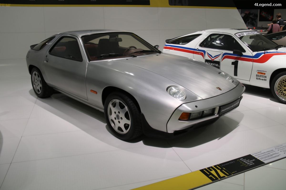 Porsche 928 S D49 de 1983 - Un prototype innovant avec une carrosserie en aluminium