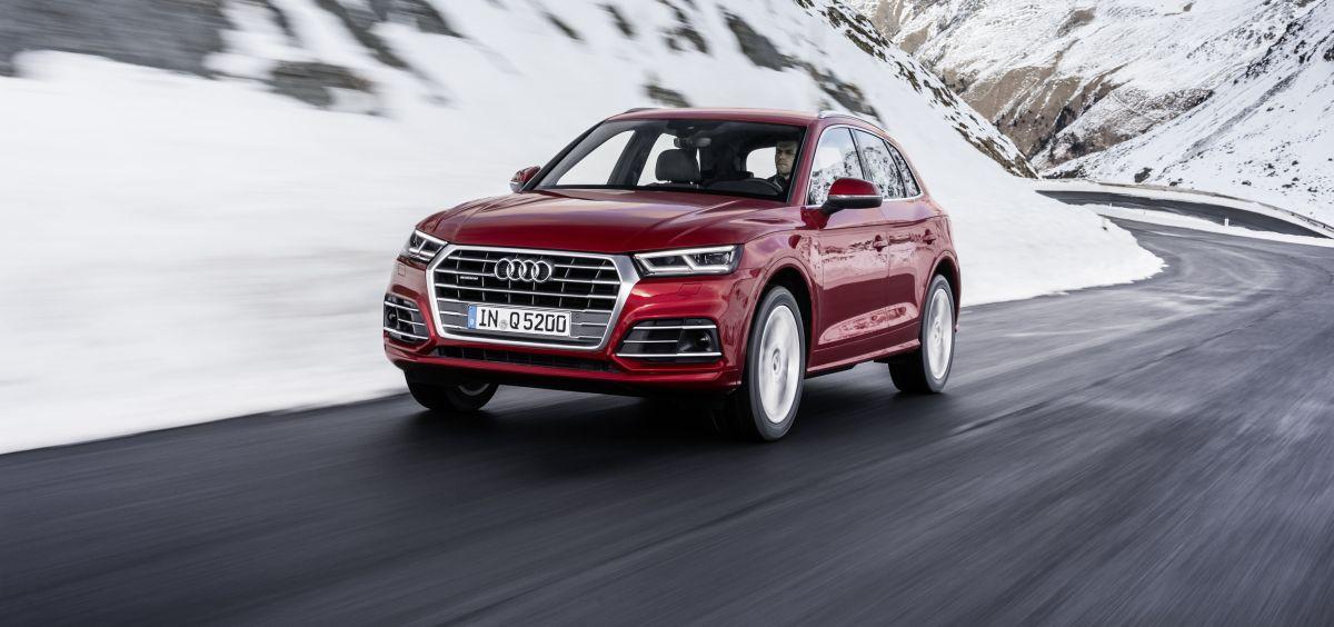 8 millions d'Audi quattro vendues célébrée avec une nouvelle Audi Q5