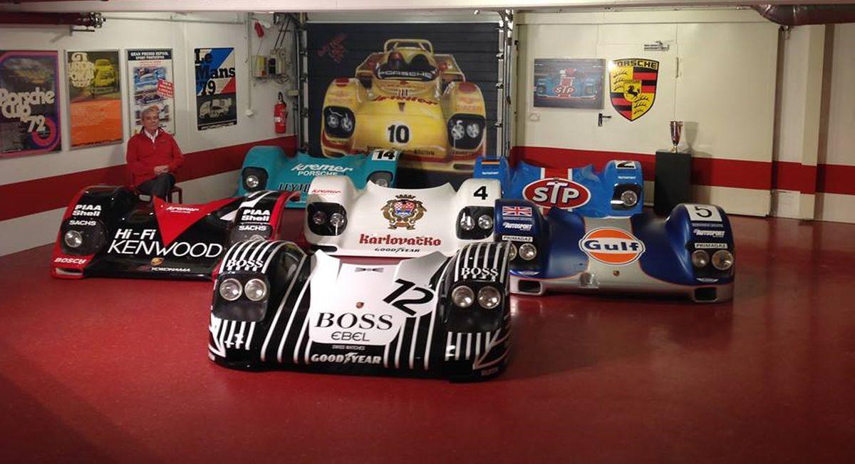 Achetez un capot avant unique de Porsche 956 et 962 K8 Spyder de Kremer Racing