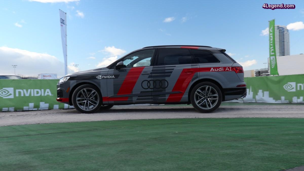 CES 2017 - Audi présente l'Audi Q7 Piloted Driving Concept : pour une conduite autonome avec l'intelligence artificielle