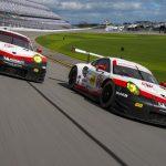 Débuts de course de la nouvelle Porsche 911 RSR aux 24 Heures de Daytona 2017