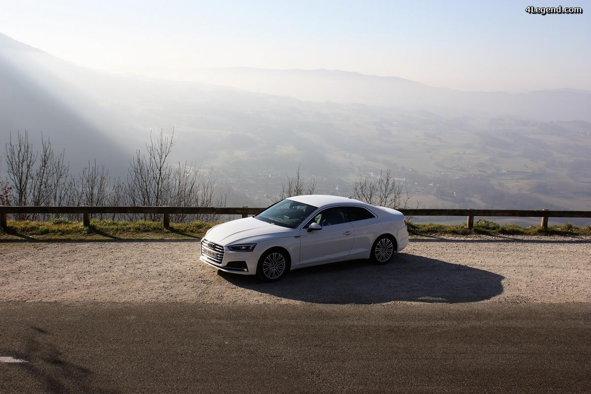 Essai de l'Audi A5 V6 3.0 TDI 218 chevaux quattro S tronic: la force tranquille.