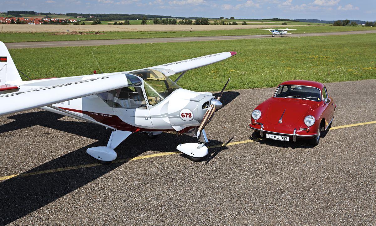 Des moteurs Porsche dans des avions - Une longue tradition aéronautique