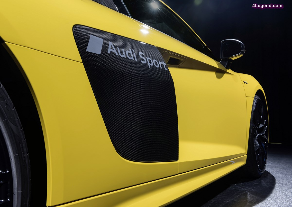 Audi présente sa technologie de gravure de marquages dans la peinture automobile