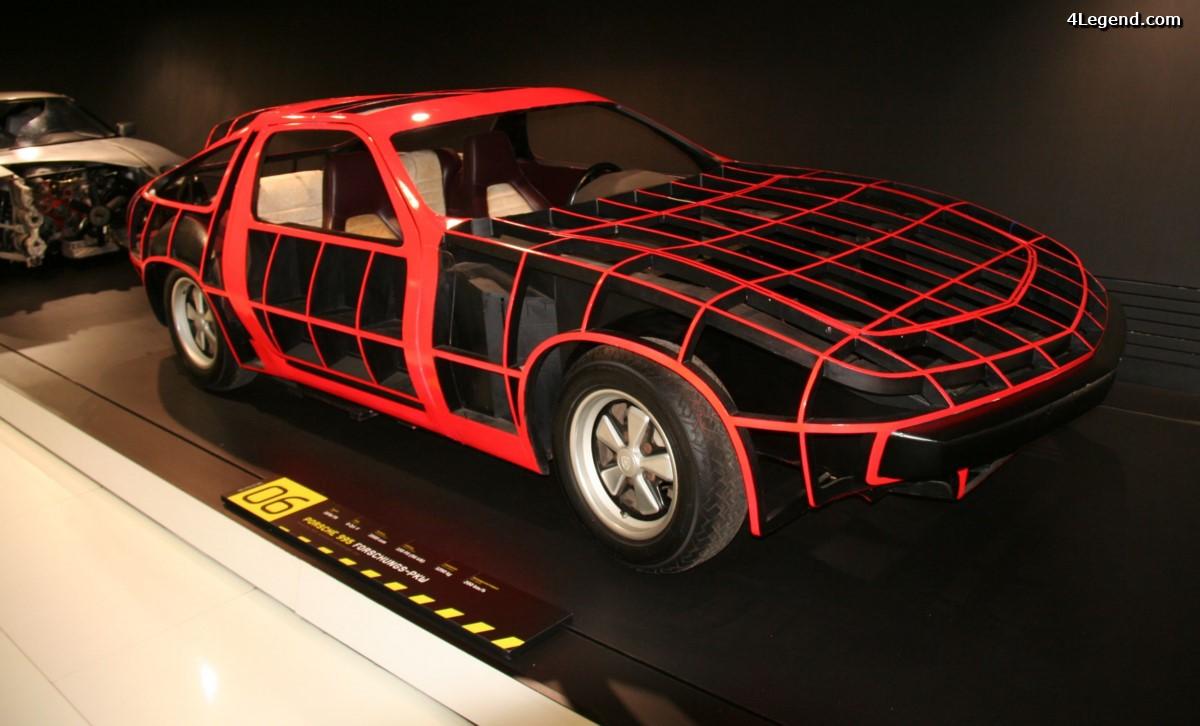 Porsche 995 de 1979 - Un Prototype expérimental futuriste