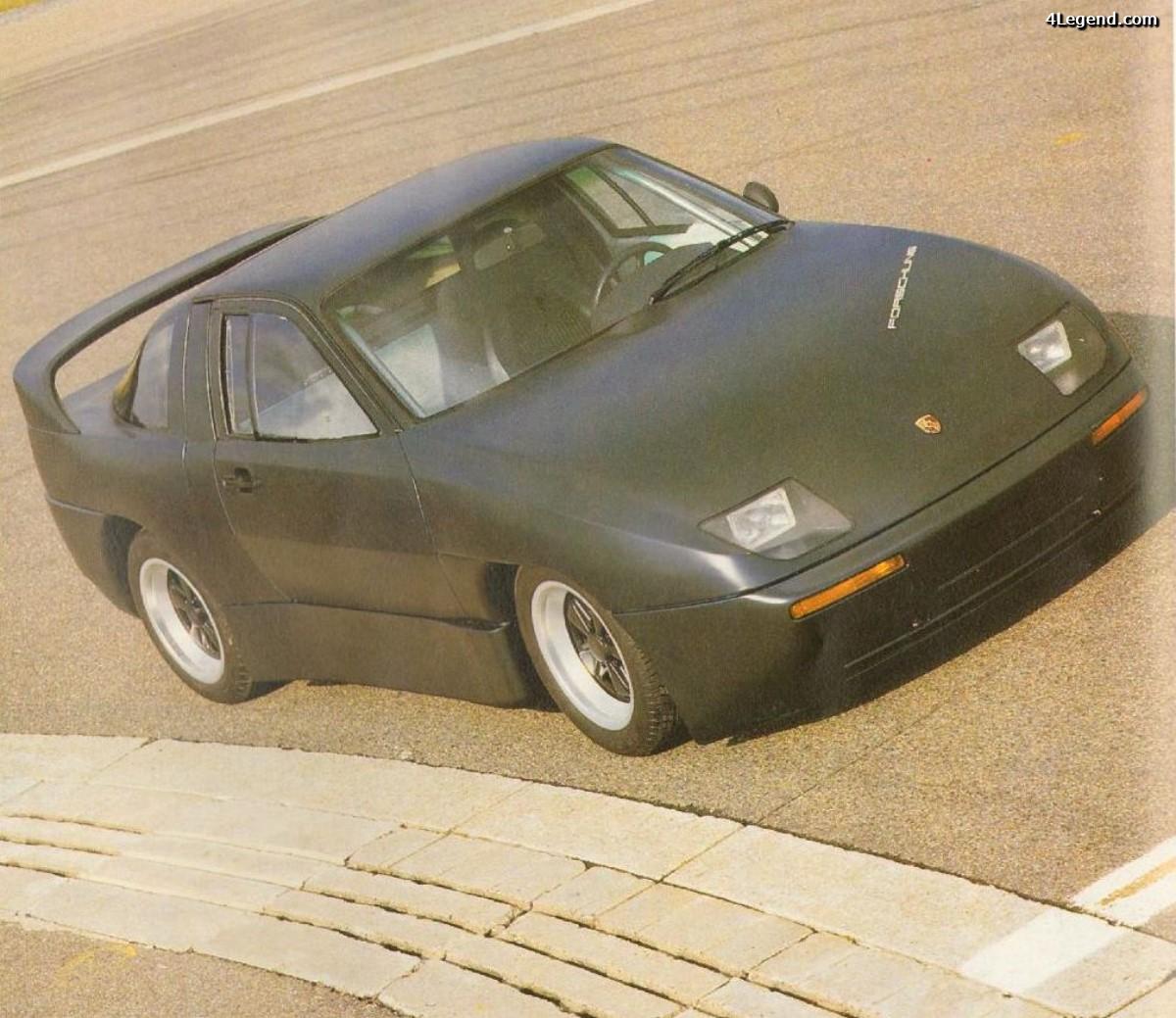 Porsche Experimental Prototype (P.E.P.) Type 2696 de 1987 - Un concept modulaire