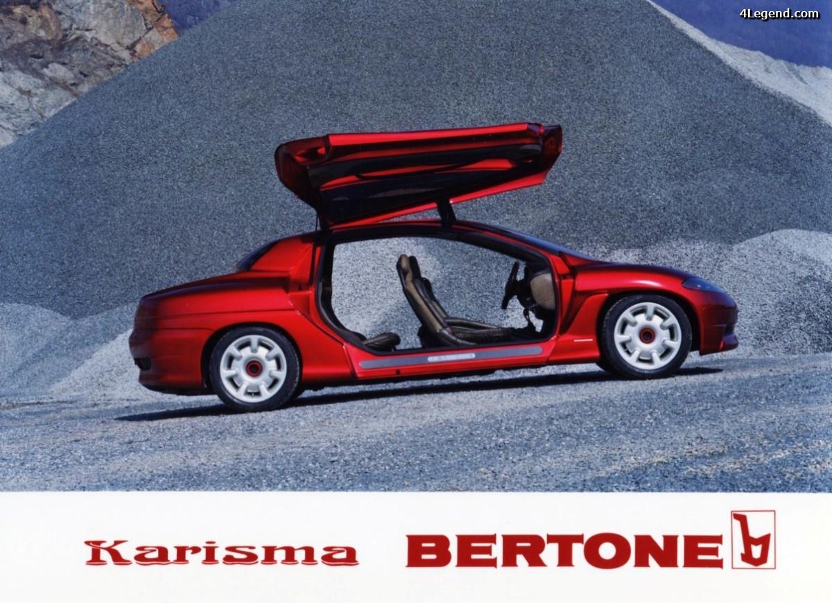 Porsche Karisma Bertone de 1994 - Un concept-car familial basé sur une Porsche 911