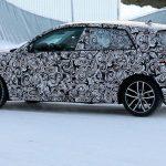 Spyshots Audi A1 2018 en tests en Laponie