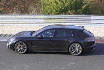 Spyshots Porsche Panamera Sport Turismo – Présentée au salon de Genève 2017