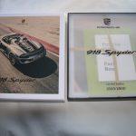 Trilogie de livres sur la Porsche 918 Spyder publiée par Delius Klasing