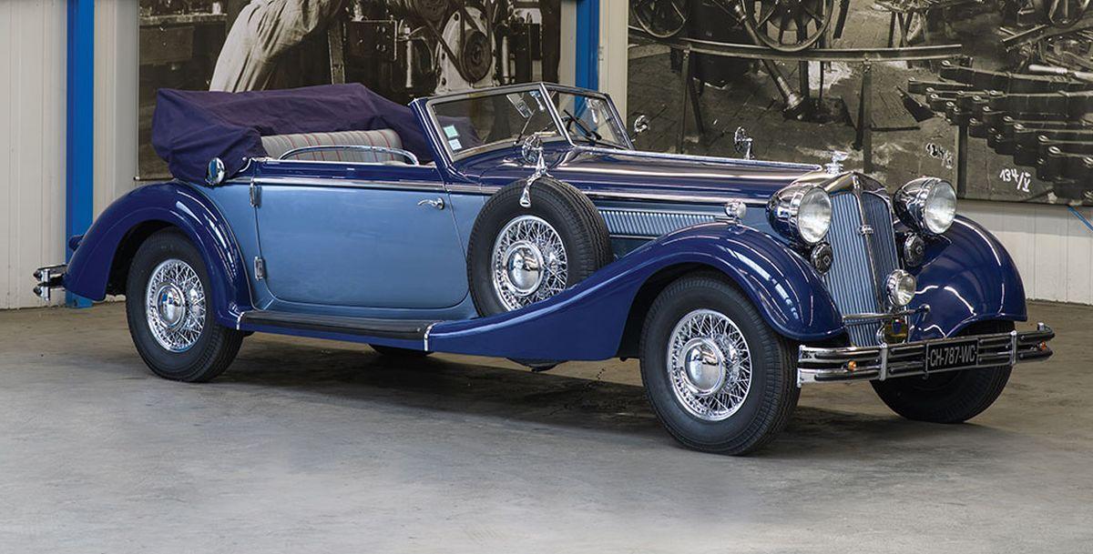 Horch 853 Cabriolet Gläser de 1938 en vente par RM Auctions - Sotheby's à Paris le 08/02/2017