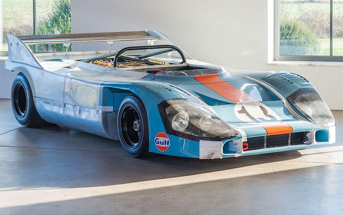Porsche 917/10 Spyder Prototype de 1970 en vente par RM Auctions - Sotheby's à Paris le 08/02/2017