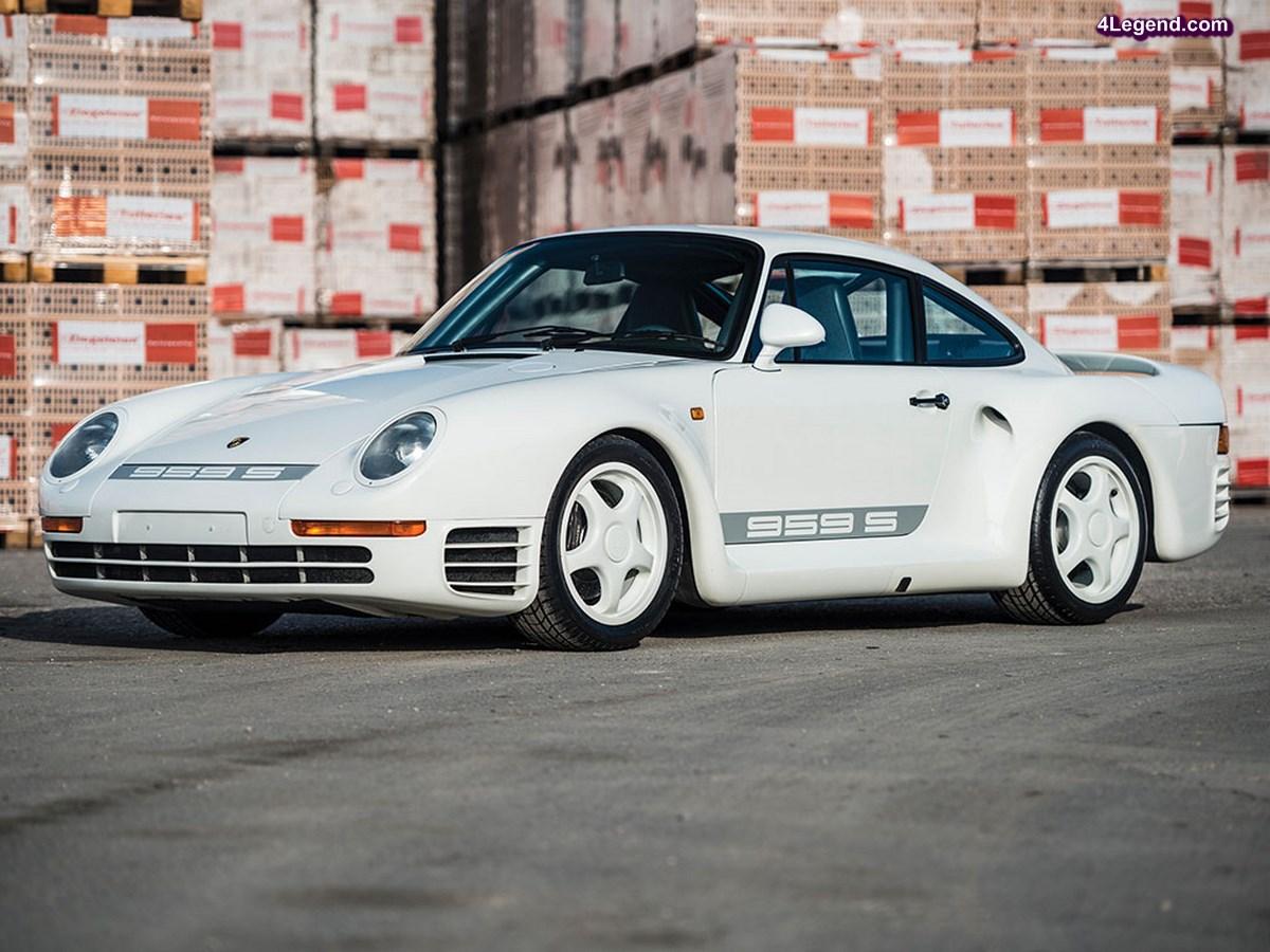 Porsche 959 Sport de 1988 en vente par RM Auctions - Sotheby's à Paris le 08/02/2017