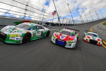 24H Daytona 2017 – Engagement de 3 Audi R8 LMS en catégorie GTD