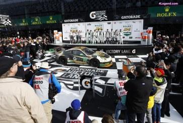 24H Daytona 2017 – 2ème place pour la Porsche 911 RSR et victoire de la 911 GT3 R
