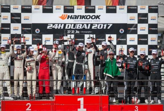 24H Dubaï 2017 – Double victoire pour la Porsche 911 GT3 R