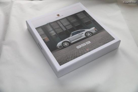 Trilogie de livres sur la Porsche 959 de Jürgen Lewandowski publiée par Delius Klasing