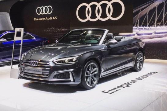 Salon de l'Auto de Bruxelles 2017 – Première européenne de l'Audi S5 Cabriolet
