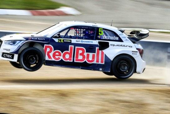 World RX – Audi Sport s'engage en rallycross aux côtés du Team EKS de Mattias Ekström