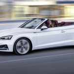 Ouverture des commandes de la seconde génération de l'Audi A5 Cabriolet