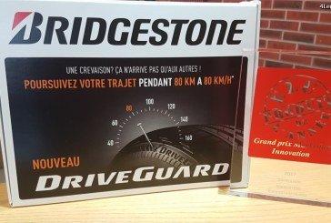 Le pneu DriveGuard de Bridgestone a été élu Produit de l'Année 2017