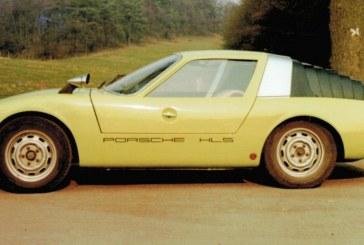 """Porsche 911 HLS """"Klappdach"""" Rennsport Coupé – Un drôle de concept datant de 1966"""