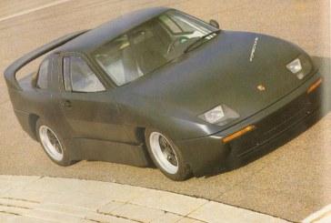 Porsche Experimental Prototype (P.E.P.) Type 2696 de 1987 – Un concept modulaire