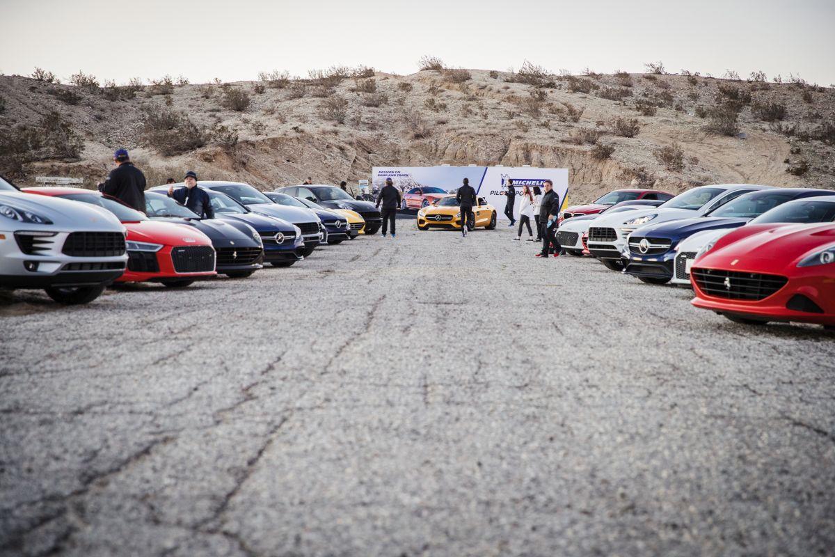 Michelin Pilot Experience - Essais et lancement mondial du pneu UHP Michelin Pilot Sport 4 S en Californie