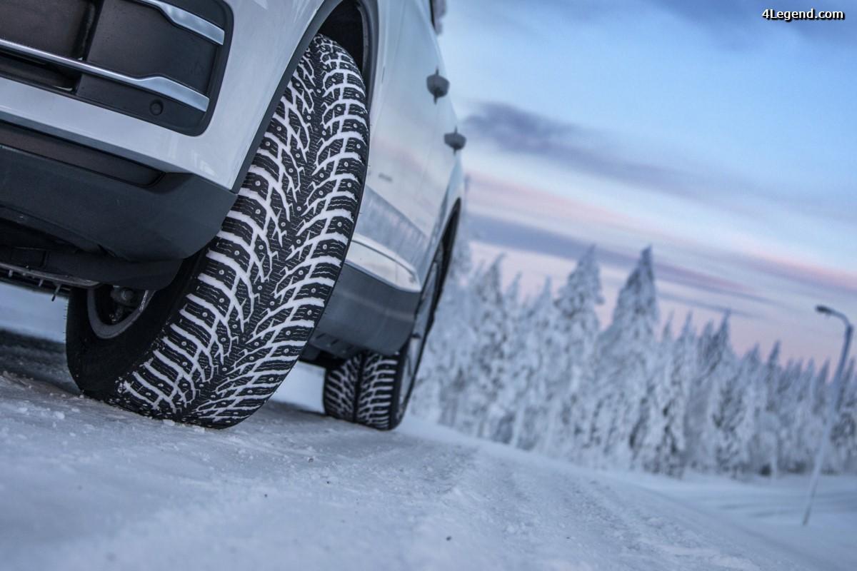 Nokian Tyres présente son nouveau pneu hiver Nokian Hakkapeliitta 9 pour voiture et SUV