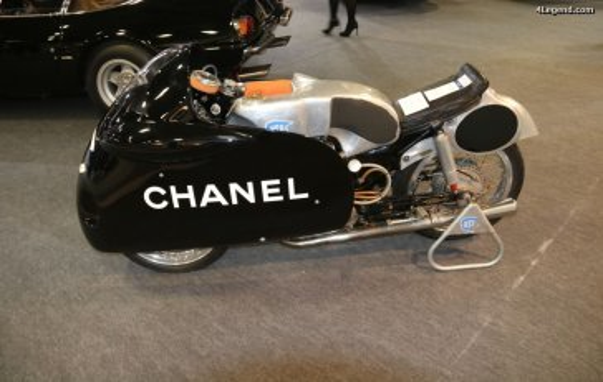 Rétromobile 2017 - Moto NSU Sportmax RS 251 de 1955