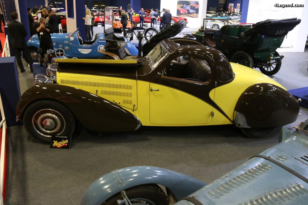 Rétromobile 2017 - Bugatti Type 57 Atalante découvrable de 1935