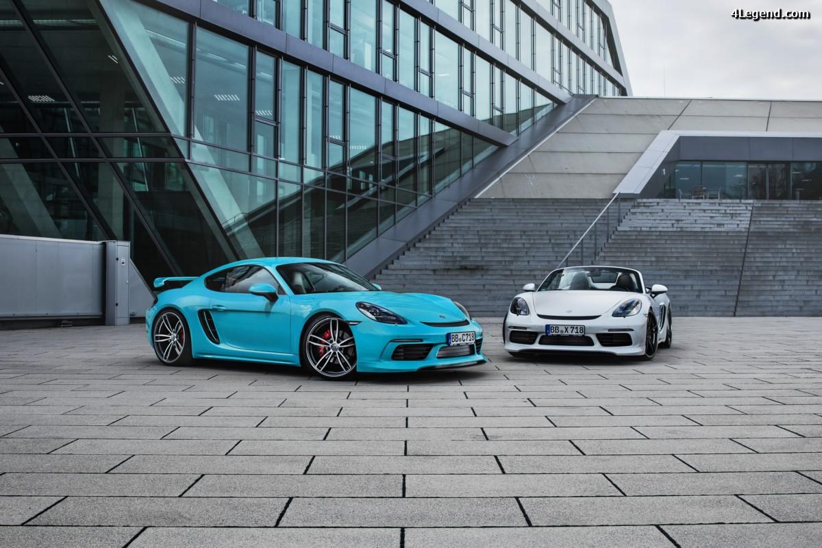 TECHART présente sa vision sportive des modèles Porsche 718 Cayman et 718 Boxster