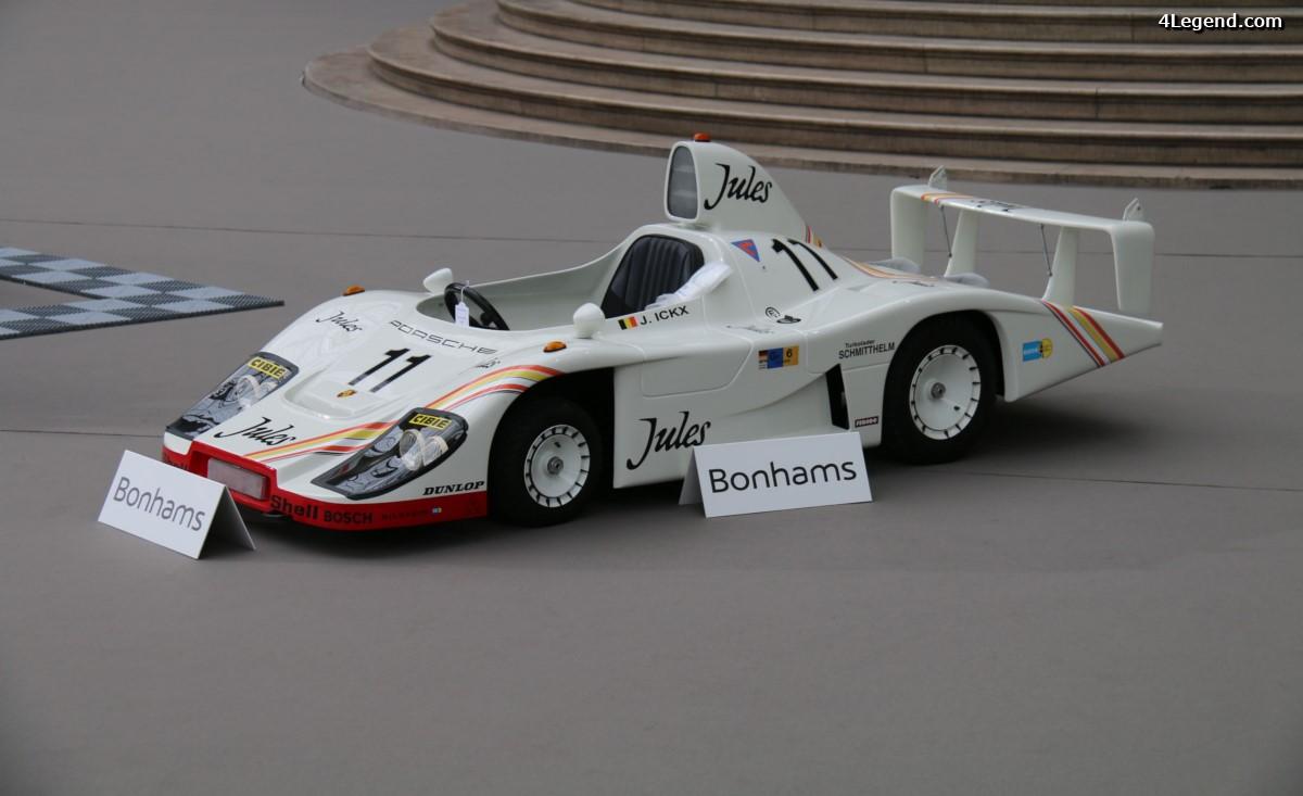 Voiture pour enfant Porsche 936 de 1981 à l'échelle 1:2