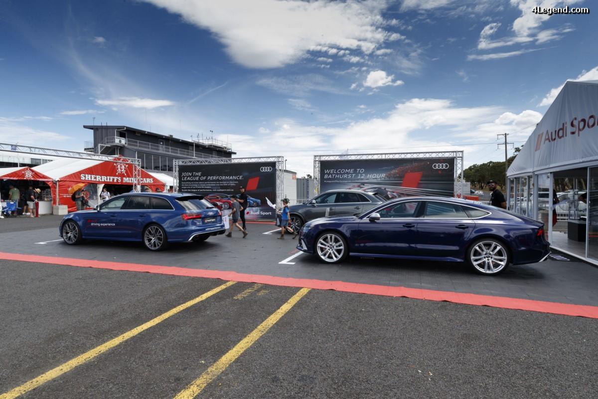 12H Bathurst 2017 - Exposition des derniers modèles Audi Sport