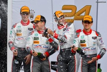 24H Daytona 2017 – Podium pour l'Audi R8 LMS en GTD