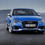 Nouvelle Audi RS 3 Sportback  : 400 ch et un look plus agressif